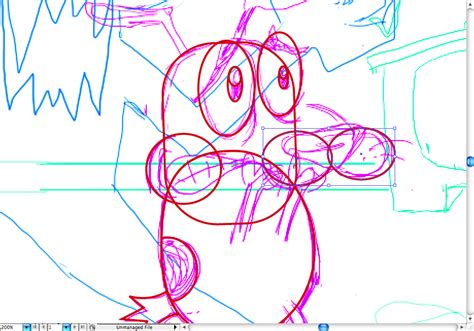 draw nose illustrator create courage the cowardly dog in illustrator