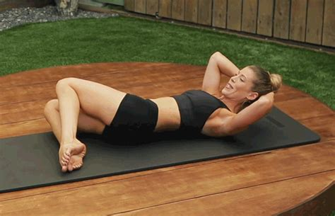 abdominal exercise feet anchored one life by dailyburn speir pilates