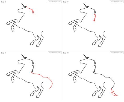 unicorn step by step how to draw a unicorn step by step drawing pencil