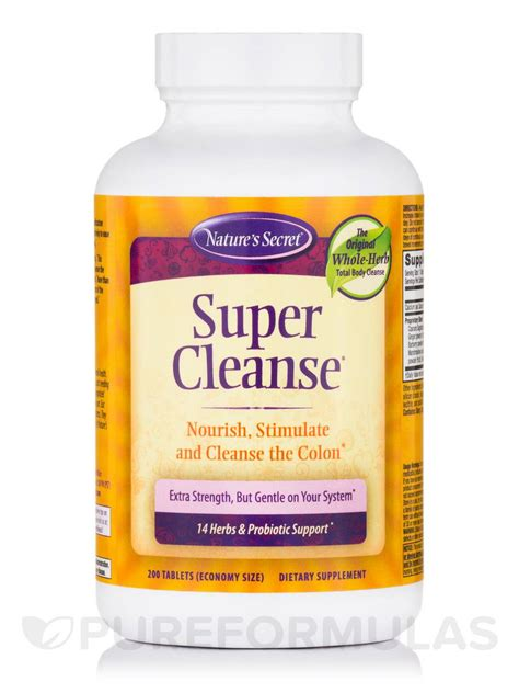 Supersonic Detox by Cleanse 174 200 Tablets