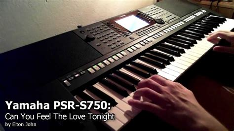 Keyboard Bekas Yamaha Psr S750 yamaha psr s750 can you feel the tonight