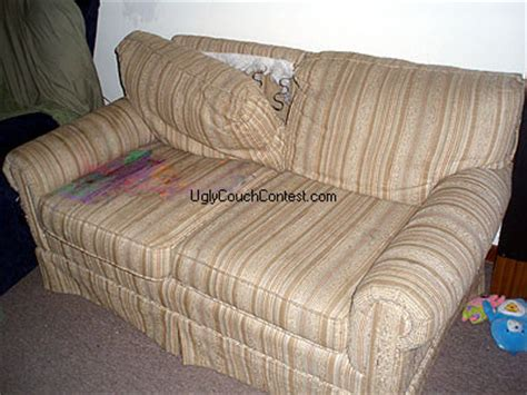 ugliest sofa ever previous winners world s ugliest couch contest