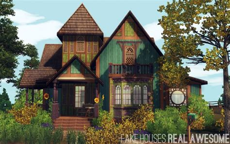 houses real awesome sims 3 sims 4