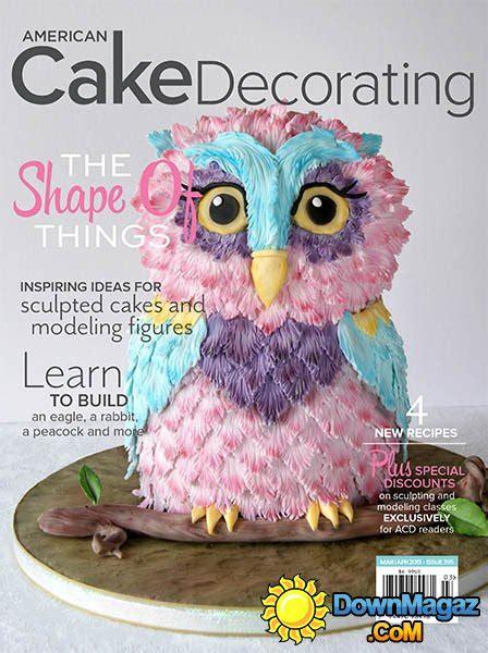 american cake decorating march april 2015 187 pdf
