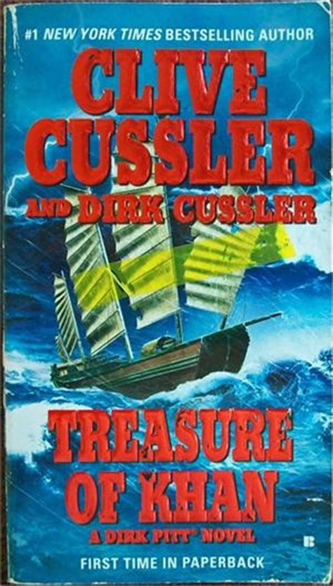 libro treasure of khan dirk 26 best images about clive cussler books dirk pitt on good books dive in and shock