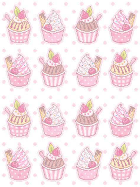 cupcake pattern tumblr pattern vomit