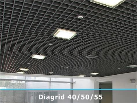 Open Cell Ceiling Profex Diagrid Open Cell Continous Metal Ceiling Big 01