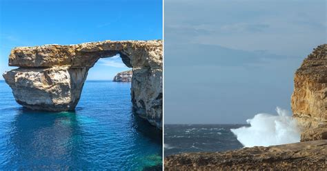azure window the azure window natural wonder in malta collapsed due to