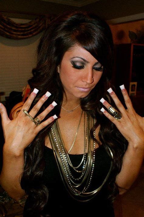 tracy dimarco from jerseylicious is using my jewelry on the show i almost want to get my nails done like hers i love them