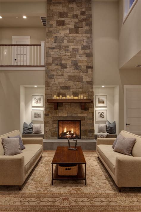 livingroom fireplace 15 relaxed transitional living room designs to unwind you