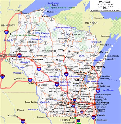 driving map of wisconsin road map of wisconsin jorgeroblesforcongress