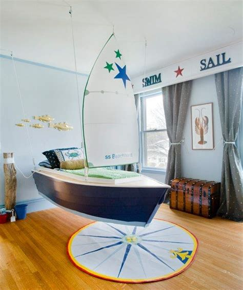 sailboat bed sailboat bed toddler room pinterest
