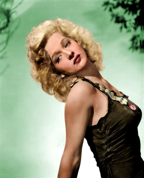 carol color colorization of carole landis by northone on deviantart