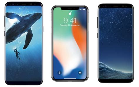 Samsung 9 Plus Price Iphone X Vs Samsung Galaxy S9 Vs Samsung Galaxy S9 Plus Price In India Specifications And
