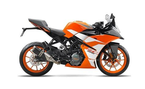 New Ktm 125 Ktm Rc 390 Rc 200 And Rc 125 Get New Livery For 2017