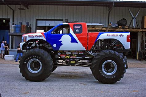 monster trucks bigfoot mlb bigfoot monster truck as chevrolet pictures and