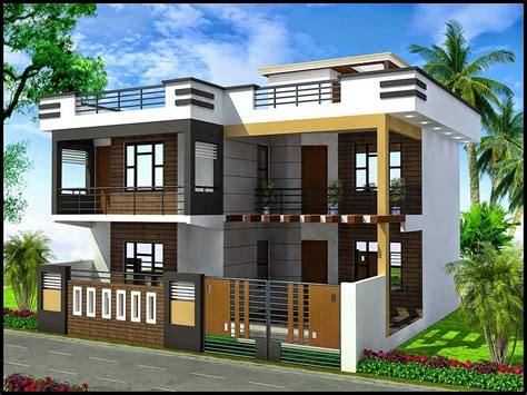 design home bhopal duplex house front elevation designs images ghar planner