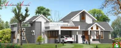 Kerala Home Design Single Floor Plans by Architecture Kerala Single Storied Kerala House Design