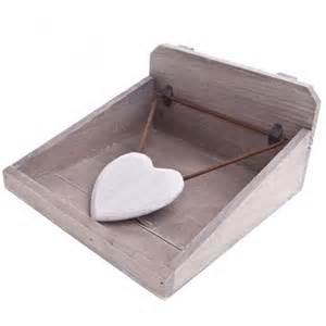 gisela graham wooden heart napkin holder gisela graham
