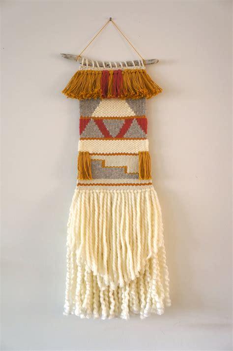 wall hanging woven wall hanging tapestry weaving feliz