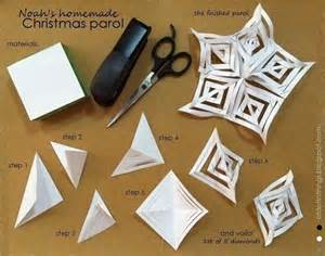 How To Make A Paper Parol - of dots things december 2012
