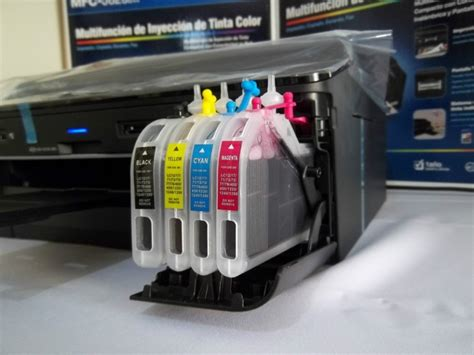 reset tinta brother mfc j430w brother mfc j825 wd sistema de cartuchos recargables
