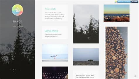 free tumblr themes lookbook 30 beautiful free tumblr themes 2014