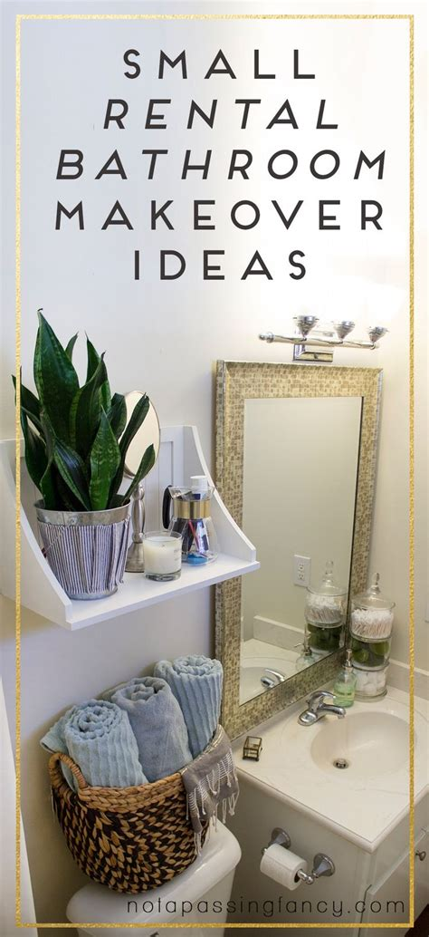 decorating a rental home best rental bathroom ideas on pinterest small rental part