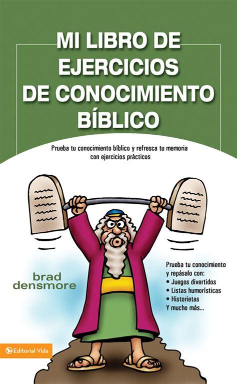 preguntas biblicas pdf mi libro de ejercicios de conocimiento biblico gran
