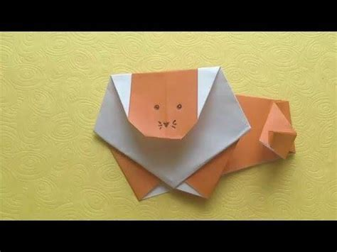 tutorial origami lion 64 best origami easy tutorial images on pinterest