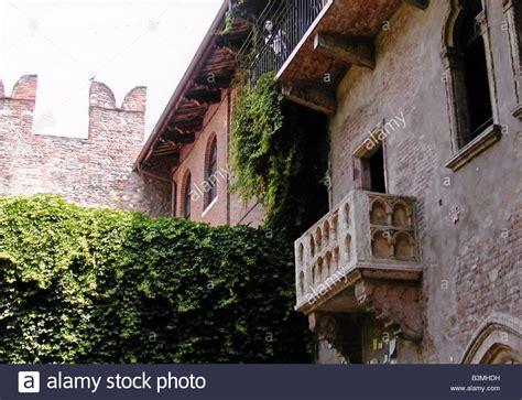 haus verona romeo and juliet balcony stockfotos romeo and