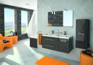 d 233 coration salle de bain gris
