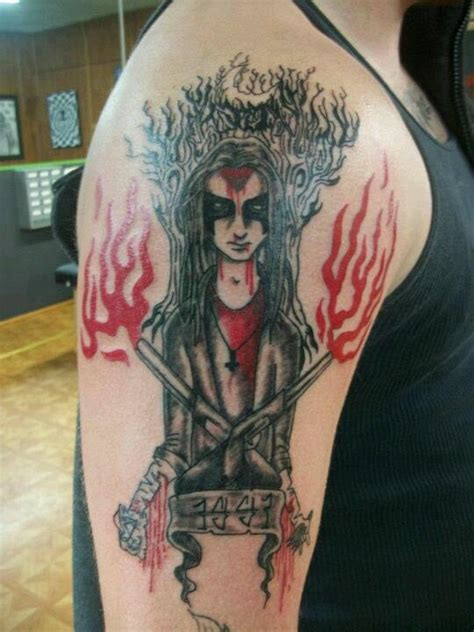 mayhem tattoo dead black metal
