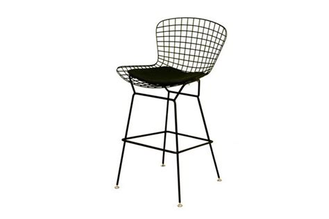 Bertoia Style Wire Bar Stool by Bertoia Style Black Wire Barstool Restaurant Furniture