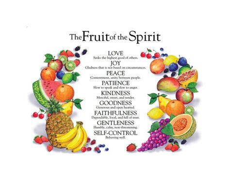 7 fruits of the holy spirit and their meanings 7 gifts and 12 fruits of the holy spirit their meanings