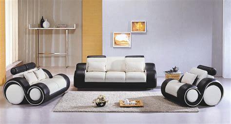 4088 contemporary black and white sofa set sofa sets