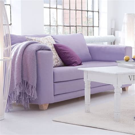 How Does Lilac Inspire Your Home Style Lovely Lilac Lavender Leather Sofa