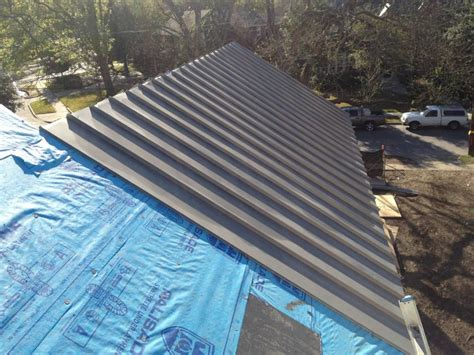 roofing modern standing seam metal roof cost