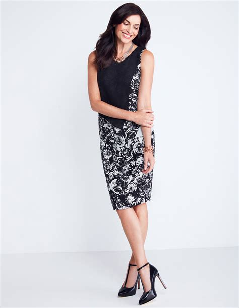 floral print pencil skirt cleo