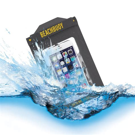 Waterproof Bag For Smartphone Up To 5 5 Pouch Anti Air Lock beachbuoy waterproof cases for cell phones tablets and e readers proporta