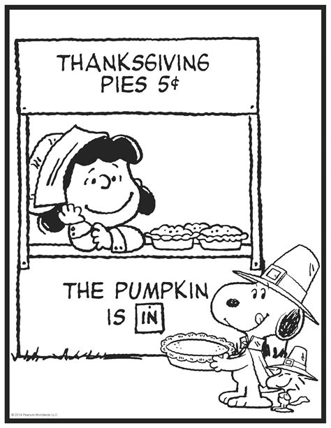 thanksgiving coloring page peanuts peanuts characters thanksgiving coloring pages coloring home