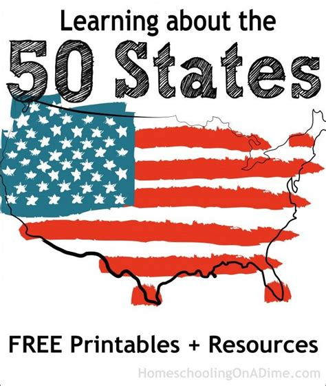 Learning The Secrets Of Resources 3 by Learning About The 50 States Free Printables And