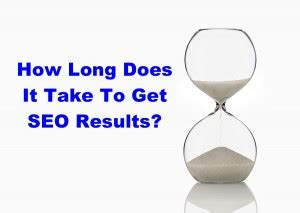 how long does it take to get my free credit report after i how long does it take to get seo results for my website