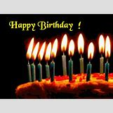 Birthday Cakes With Candles And Flowers | 550 x 414 animatedgif 453kB