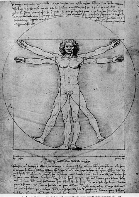 """Leonardo da Vinci- """"Człowiek Witruwiański"""" 1490 w 2020"""