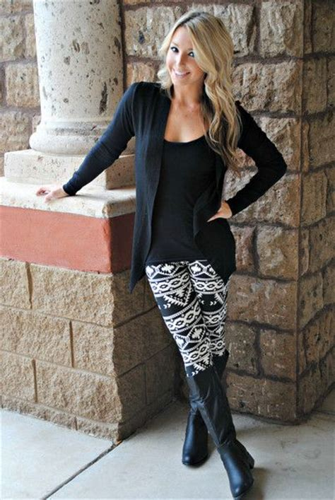 pattern leggings ideas aztec myan leggings super cute outfit just dont know how