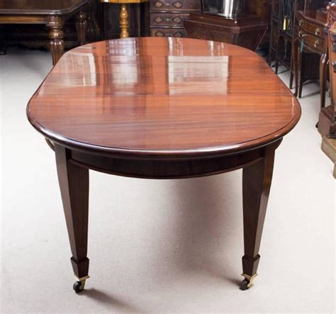 Edwardian Dining Table And Chairs Antique Edwardian Dining Table With Eight Chairs Circa 1900 At 1stdibs