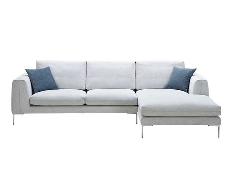 Off White Fabric Sectional Sofa Nj Blanca Fabric Section Sofas