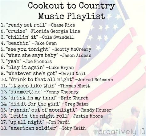 17 best ideas about country playlist on pinterest country music playlist country songs list