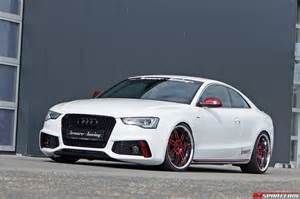 Audi S5 Tuning Charming White Audi S5 Coupe By Senner Tuning Gtspirit